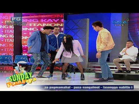 Sunday PinaSaya:  Mocha-mo Huston, nagbigay ng basketball lessons