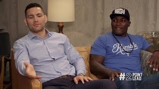 2 Point Lead: Chris Weidman and Anthony Johnson in the House