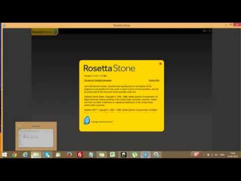 Rosetta stone error 2122, 2123, 2125 Database is out of date