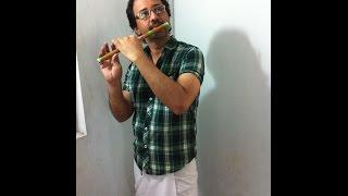 oru kadhal devathai on flute by suren chennu
