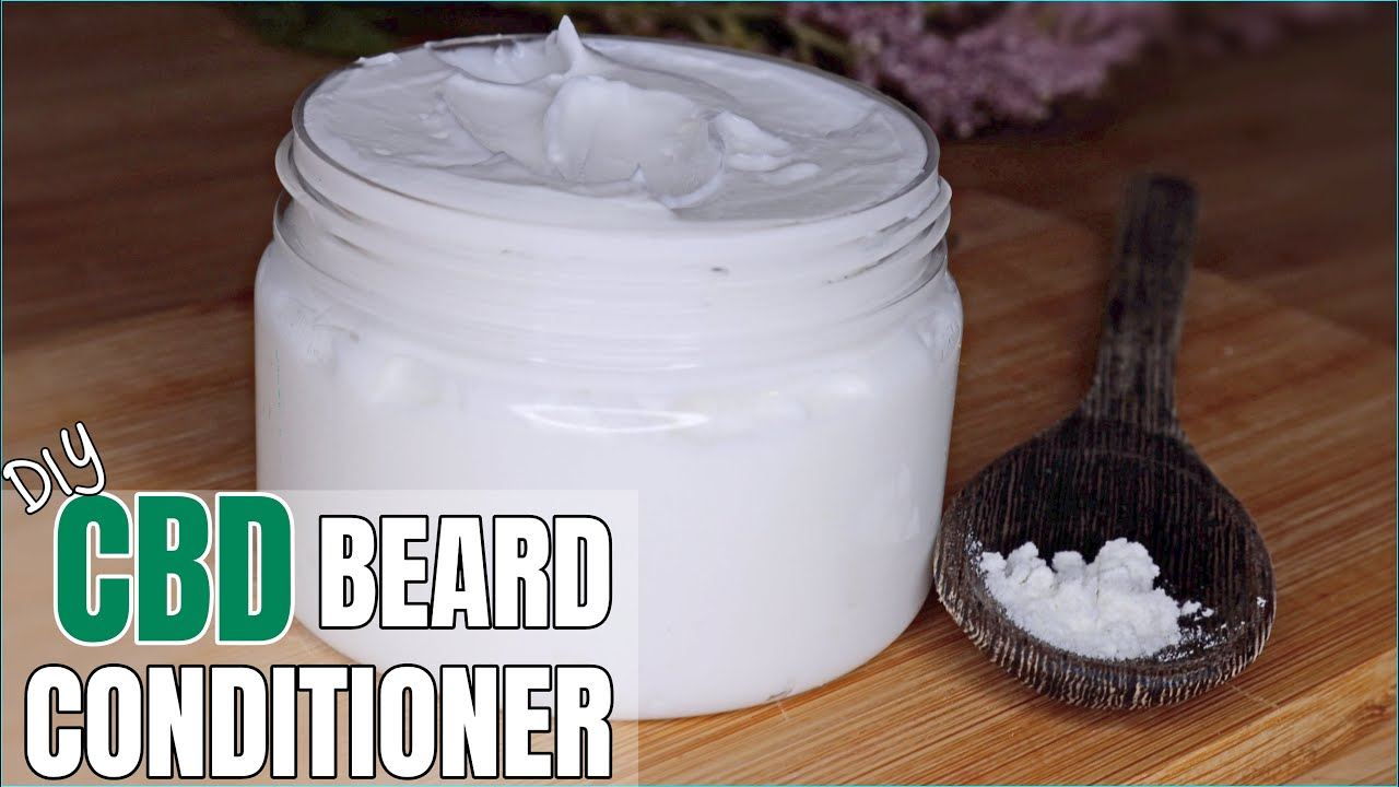 DIY CBD Beard Leave-in CONDITIONER | How to use CBD isolate | Father's day Gift Ideas