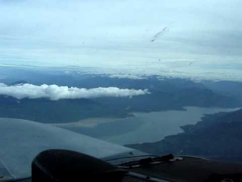 Aerial Omineca-Peace Arms of Williston Lake BC Canada