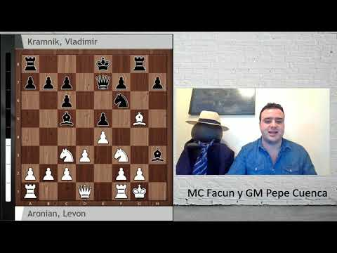 ¿La mejor partida de la historia de un candidatos? Aronian vs Kramnik (Berlín, 2018)