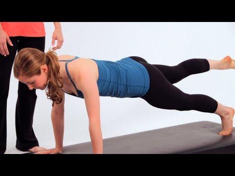 How to Do Pilates Push-Ups | Pilates Workout