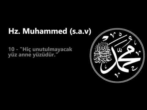 Hz  Muhammed s a v   Tarihe Damga Vuran 20 Sözü