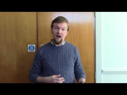 Tim Morgan, University of Glasgow PhD student
