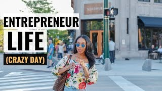 BUSY ENTREPRENEUR LIFE | Day in the Life of an Entrepreneur