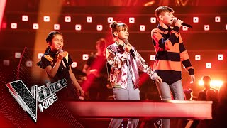 Rachel, Heidi and Dara Perform 'Whenever Wherever' | The Battles | The Voice Kids UK 2020