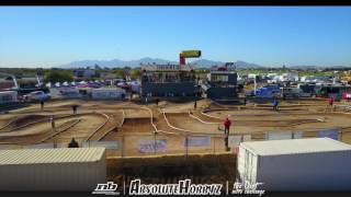 Aerial view of the 2017 Dirt Nitro Challenge