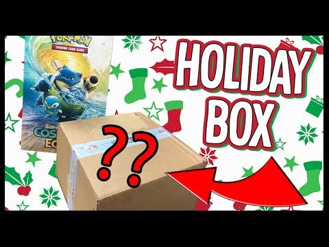 Pokemon Sent Me A Holiday Box - What's In It?