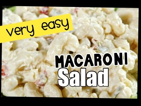 Easiest MACARONI SALAD | Simple Summer recipe