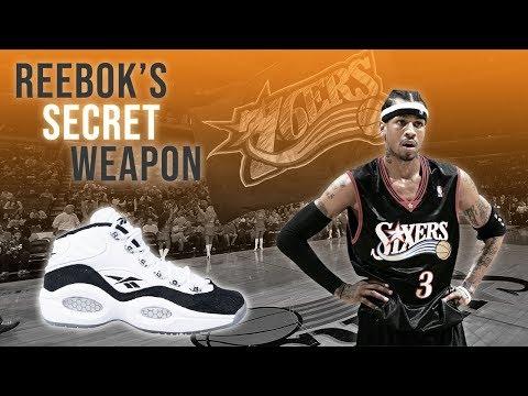Reebok's Secret Weapon: A History Of Allen Iverson's Sneakers