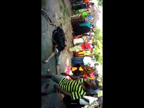 Mwizi achomwa moto kiwangwa mkoani pwani leo