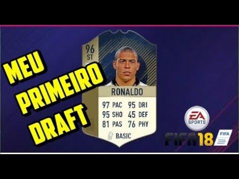 Internet me trolou no meu primeiro DRAFT - FIFA 18