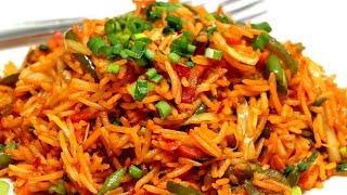 स्ट्रीट स्टाइल शेज़वान फ्राइड राइस | Schezwan Fried Rice | Fried Rice Recipe | Kabitaskitchen