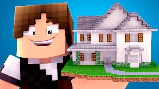 Minecraft : CASA DO JAZZGHOST !! - ( Youtubers Gigantes #02)