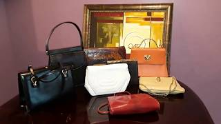Vintage Handbags I Bought This Week