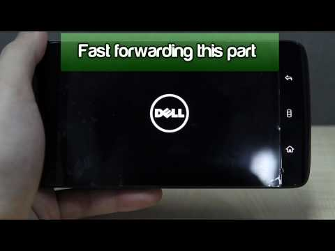 How to Master Reset a Dell Streak