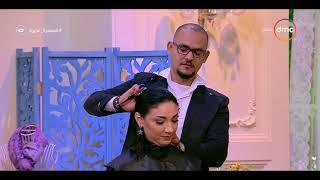 السفيرة عزيزة - عبده مصفف الشعر يوضح أهم العادات الخاطئة في قص الشعر