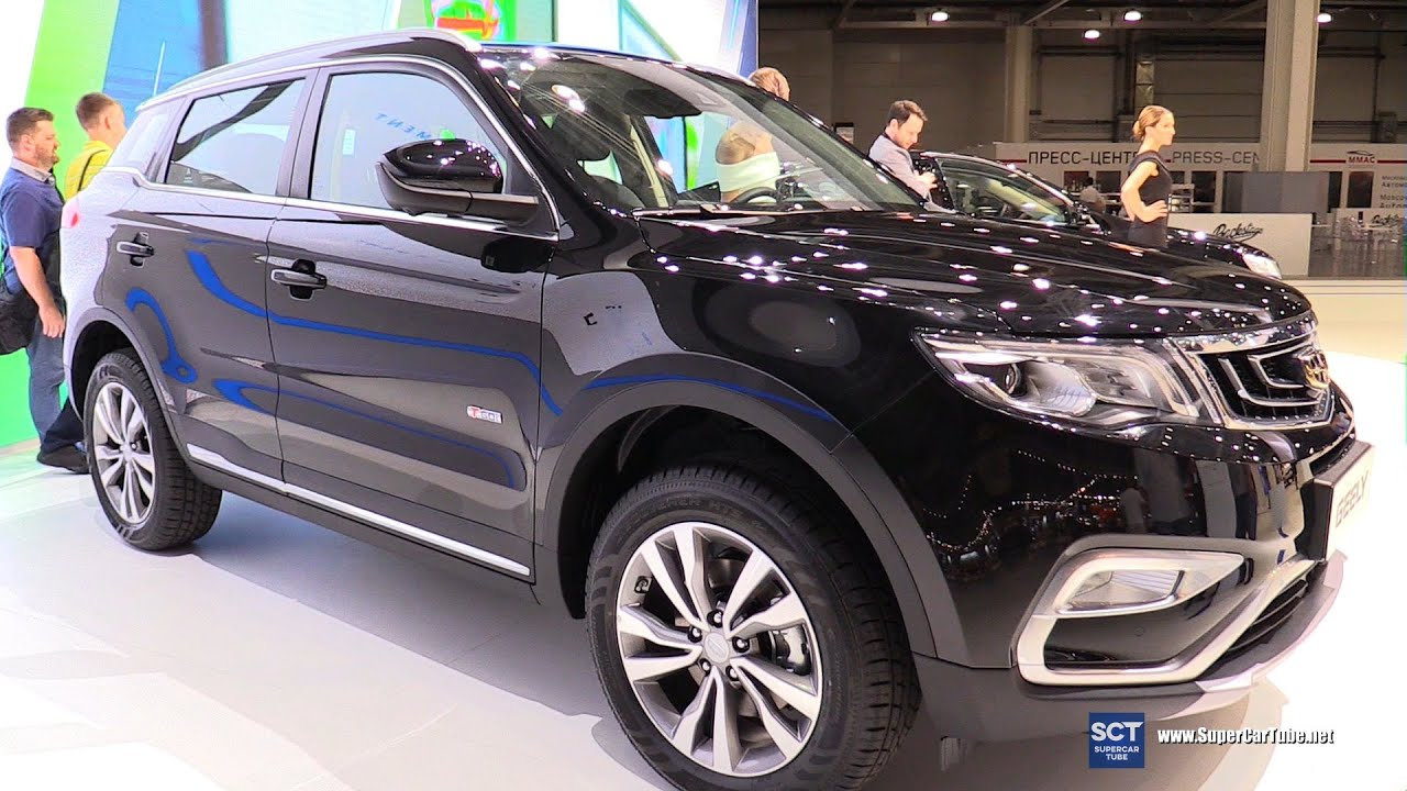 2017 Geely Nl3 Crossover Exterior And Interior Walkaround 2016