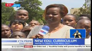 Pupils across the country report to school as new curriculum kicks off