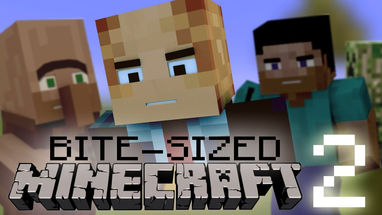 Bite sized minecraft 2 youtube sciox Choice Image