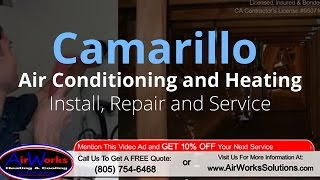 Camarillo Air Conditioning and Heating - (805) 754-6468 - Also Offering Thousand Oaks HVAC Service
