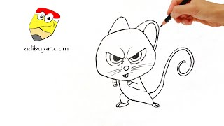 Operación Cacahuete: Cómo dibujar a Mr Feng | How to draw Mr Feng (Nut job 2) - Locos por las nueces