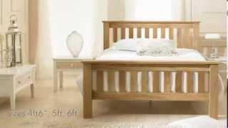 Bestpricebeds Stirling Solid Oak Bed Frame
