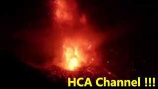 volcan chaparrastique de el salvador hace erupcion