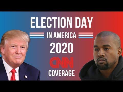 2020 Election Night | Kanye West vs Donald Trump