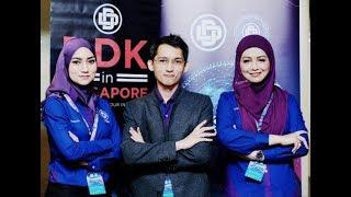 Đài truyền hình Singapore phỏng vấn bộ 3 đầy sức mạnh và tầm nhìn của DinarDirham