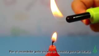 ¡No toques la vela! Experimentos (Divertiaula)