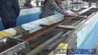Wood Plastic Composites Wpc Floor Deck Making Machines