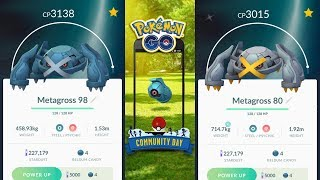 Beldum Community Day Shiny Hunting - Pokemon Go!