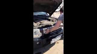 Land Rover, установка решетки радиатора  своими руками