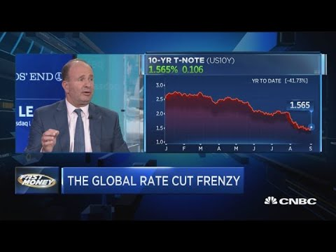 10-year Yield Could Fall To Zero This Year, JPMorgan's Top Fixed Income Strategist Says
