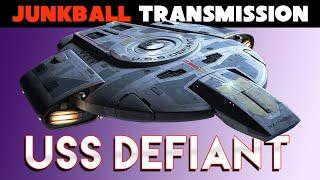 USS Defiant Star Trek Deep Space Nine Retrospective Analysis