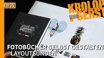 Layoutsünden - 13 - Fotobuch gestalten 📷 Krolop&Gerst