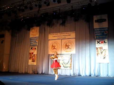 Fitness. 1st Championship of Ukraine in Bodybuilding Phisique Sport according to WBPF (2011)