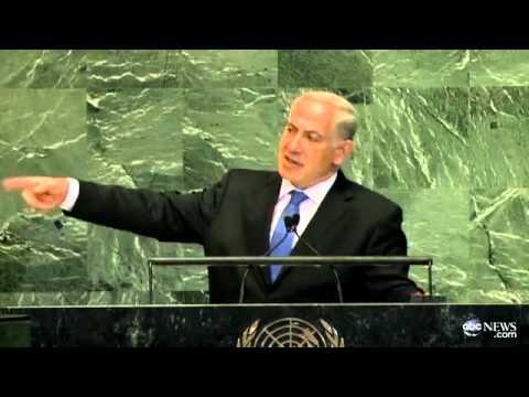 Netanyahu UN Speech first nuclear duck now a pirate bomb