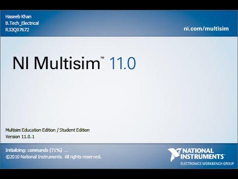 free multisim 11.0 software