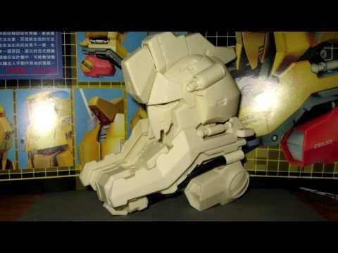 Building resin 1/35 Hyaku Shiki head model part 1