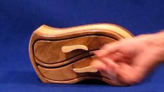 Model - 6 | Low Profile | Two Drawer Band Saw Box