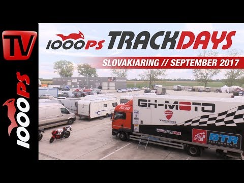 1000PS Bridgestone Trackdays - Eventvideo | Slovakiaring September 2017