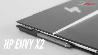 HP Envy x2 Unboxing & First Look: Windows 10 on Snapdragon 835!