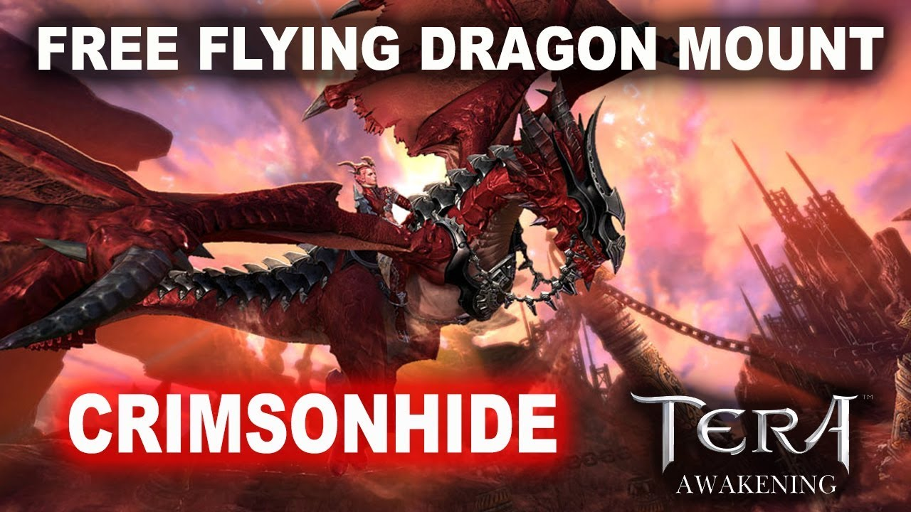 HOW TO OBTAIN FREE FLYING MOUNT TERA PLAYWITH SEA