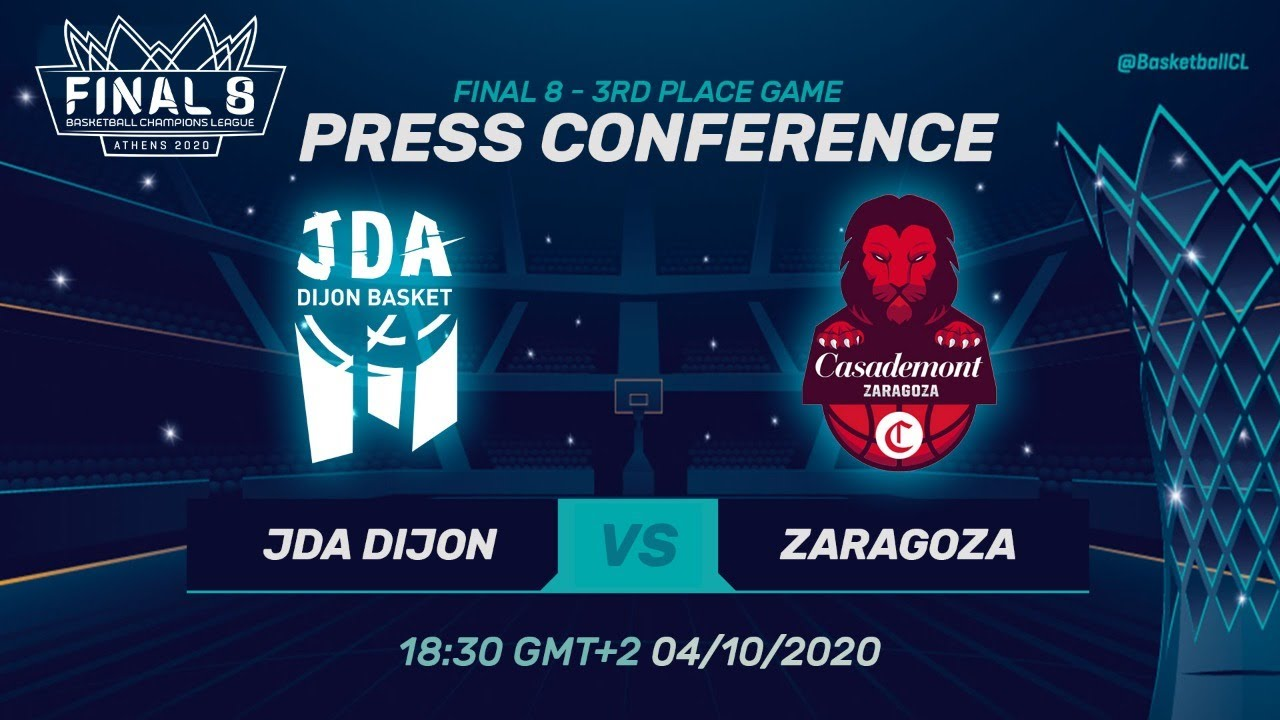JDA Dijon v Casademont Zaragoza - PC - 3rd Place Game - Basketball Champions League 2019
