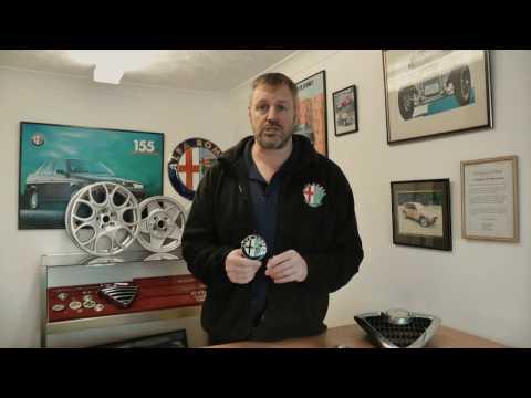 Alfa Romeo Badges and Cover