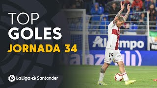 Todos los goles de la jornada 34 de LaLiga Santander 2018/2019